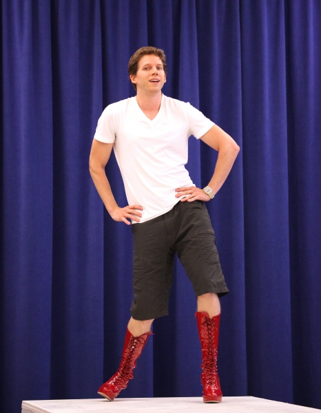 Photo Coverage: Extra Fierce KINKY BOOTS Press Preview - Cyndi Lauper, Harvey Fierstein, Stark Sands, Billy Porter & More!