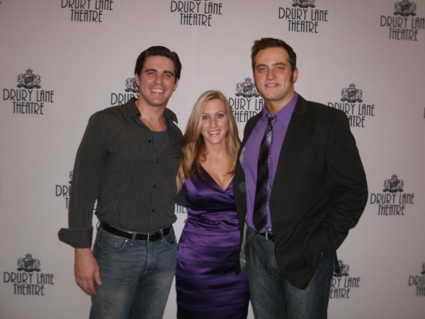 Jake Klinkhammer, Robin Childress and Chris Critelli