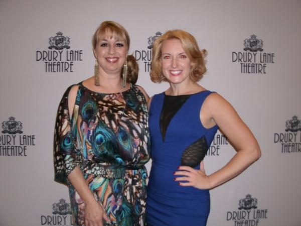 Rachel Rockwell and Amber Mak at XANADU Celebrates Opening Night at Drury Lane Theatre