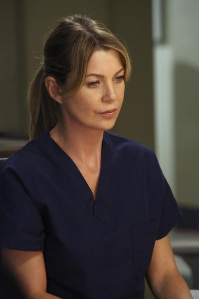 ELLEN POMPEO at First Photos from the Season Premiere of GREY'S ANATOMY!