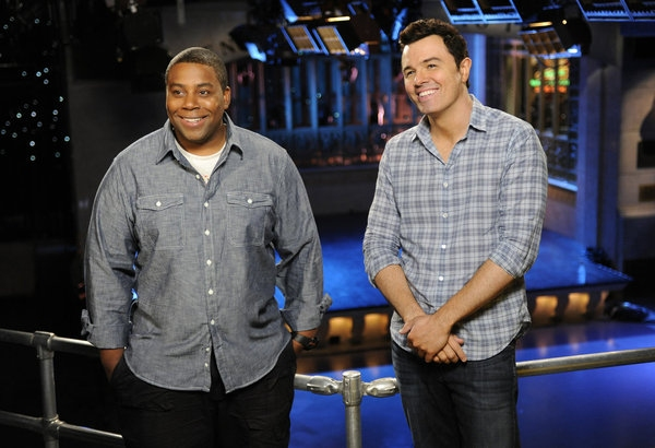 Kenan Thompson, Seth MacFarlane -- (Photo by: Dana Edelson/NBC)