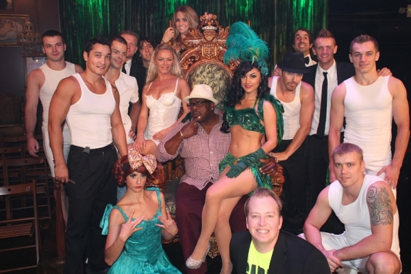 Cedric the Entertainer and the Cast of ABSINTHE