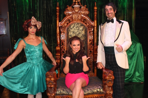 Photo Flash: Disney Star Jennifer Veal and Cedric the Entertainer Visit ABSINTHE