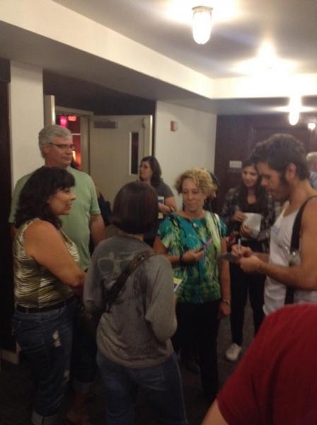 Photo Flash: Saturday Intermission Pics, Sept 15 - CHAPLIN, EVITA, Perez Hilton in NEWSical and More!