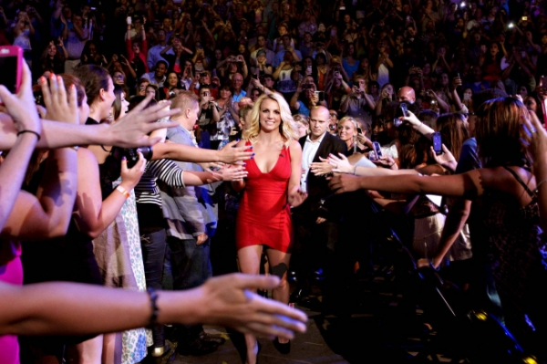 Britney Spears  at Meet the Contestants on Episodes 1 and 2 of THE X-FACTOR!