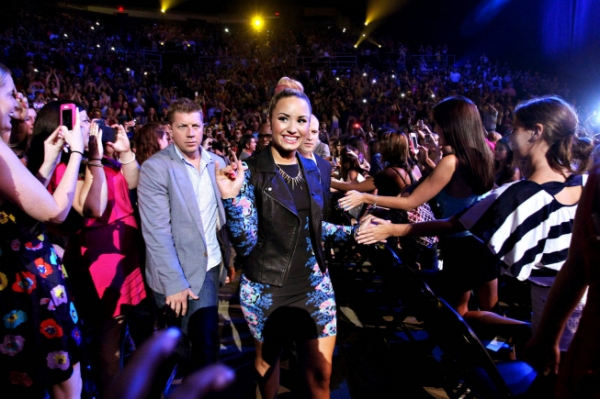 Demi Lovato  at Meet the Contestants on Episodes 1 and 2 of THE X-FACTOR!
