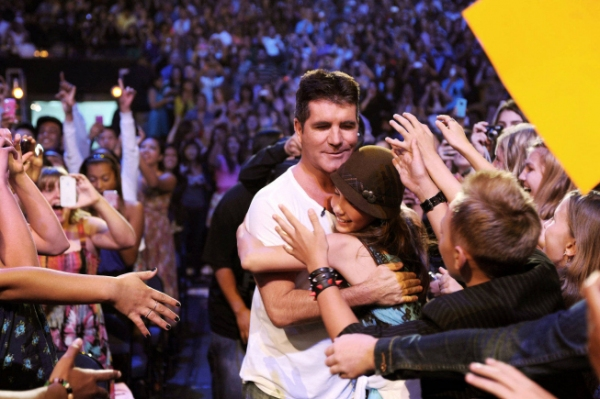 Simon Cowell  at Meet the Contestants on Episodes 1 and 2 of THE X-FACTOR!