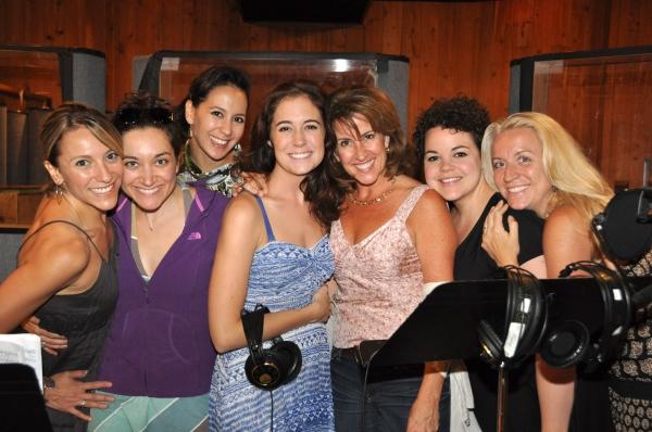 Erica Mansfield, Laurel Harris, Kristine Covillo, Emily Mechler, Rebecca Eichenberger, Melanie Field and Kristie Dale Sanders