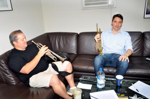 Photo Exclusive: Michael Cerveris, Elena Roger, Max von Essen and EVITA Cast Sing 'Carols For A Cure'