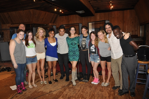 Ryann Redmond, David Pepin, Nikki Bohne, Taylor Louderman, Ariana Debose, Andros Rodriquez, Janet Krupin, Casey Jamerson, Danielle Cariacci, Courtney Corbeille, Alex Lacamoire and Will Wells
