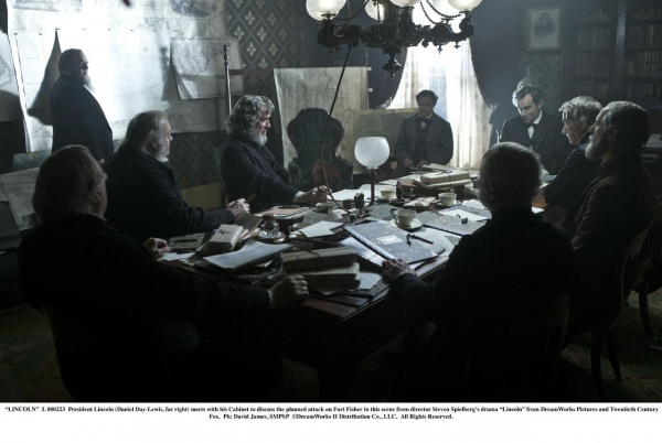 at New LINCOLN Film Stills - Daniel Day-Lewis, Sally Field, Joseph Gordon-Levitt and More!