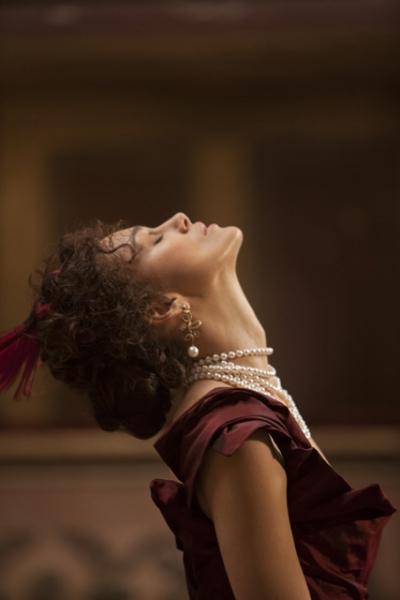at Keira Knightley, Jude Law, Aaron Taylor-Johnson and More in New ANNA KARENINA Production Stills