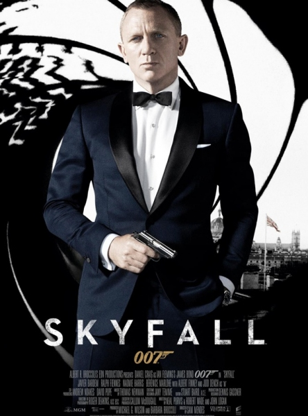 Poster Art for SKYFALL at New Poster for James Bond SKYFALL