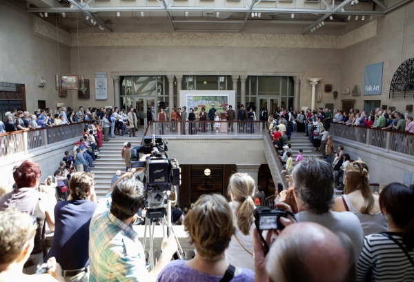 Photo Flash: Jason Danieley, Carmen Cusack and CST's SUNDAY IN THE PARK WITH GEORGE Perform at Art Institute of Chicago!