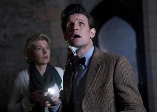 Matt Smith at 'Power of Three' Episode of BBC's DR. WHO