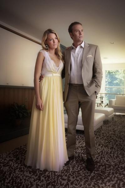 Blake Lively as Serena Van Der WoodsenAnd Barry Watson as Steven
