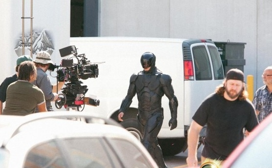 Photo Flash: First Look From the Set of ROBOCOP Remake