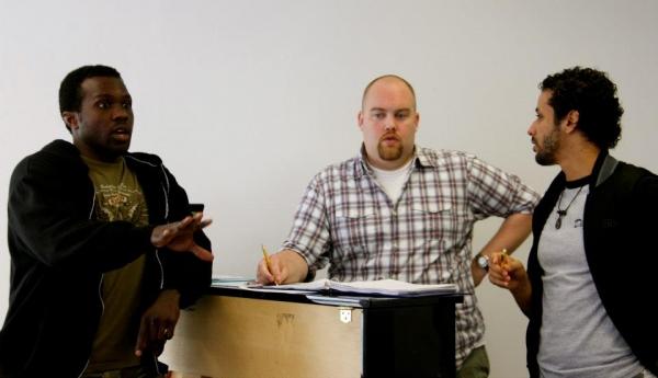 Joshua Henry, Jason Burrow and Luis Salgado Photo