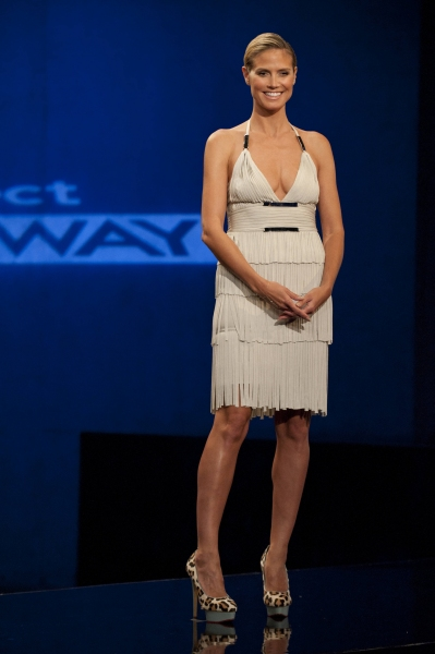 Heidi Klum at Sneak Peek at PROJECT RUNWAY on Thursday, September 20 - Debra Messing, The Rockettes & More!