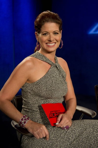 Debra Messing at Sneak Peek at PROJECT RUNWAY on Thursday, September 20 - Debra Messing, The Rockettes & More!