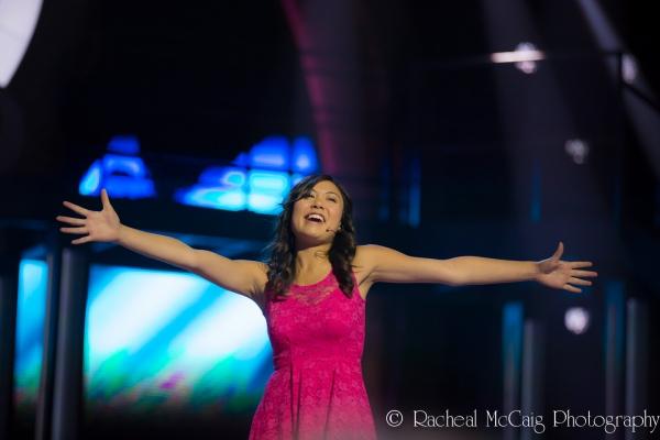 Kelsey Verzotti sings Good Morning Baltimore Photo