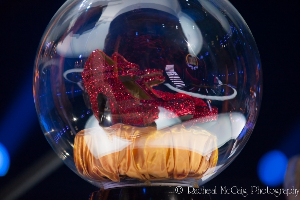 The Ruby Slippers at Andrew Lloyd Webber Comes to Toronto for OVER THE RAINBOW