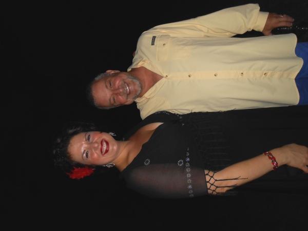 DELETE AND FIX Leanne Borghesi and Director Michael Bush Photo