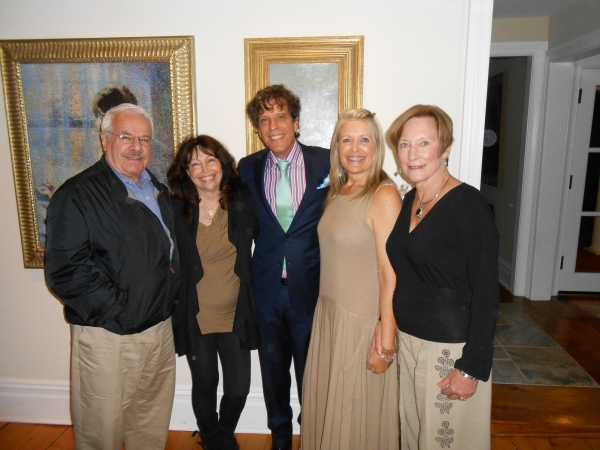 Philip and Elaine Getter, Jonathan Brielle, Cherie King and Barbara Martal