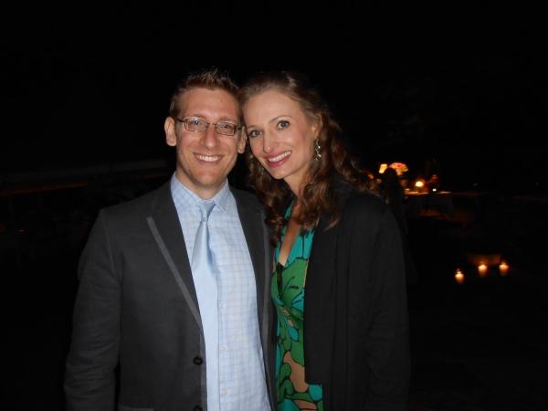Christian Lerch and Jessica Burrows Photo