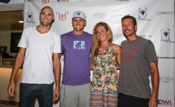 Photo Flash: Jake Gibb, April Ross & More at Bagatelle Las Vegas' 2012 National Volleyball League 'Best of the Beach' Tournament