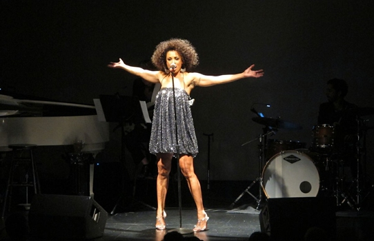 Photo Coverage: Tony Award-Nominee Valarie Pettiford at The Renberg Theatre