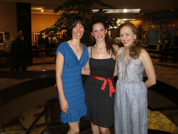 Linda Fortunato, Amanda Lauren Compton and Amy Orman