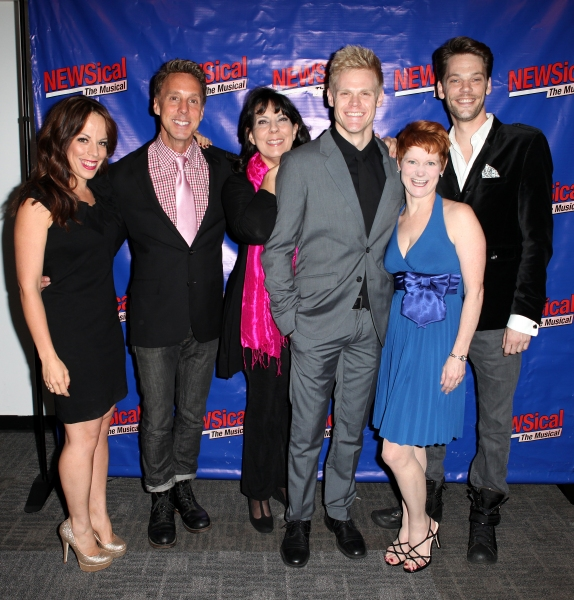 Leslie Kritzer, Michael West, Christine Pedi Tommy Walker, Amy Griffin & Ryan Knowles