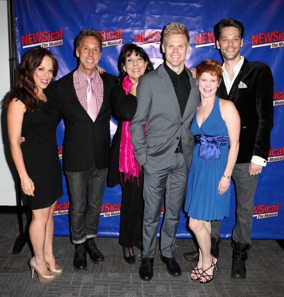 Leslie Kritzer, Michael West, Christine Pedi Tommy Walker, Amy Griffin & Ryan Knowle Photo