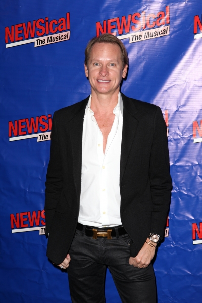 Carson Kressley at Perez Hilton Opens in NEWSical The Musical