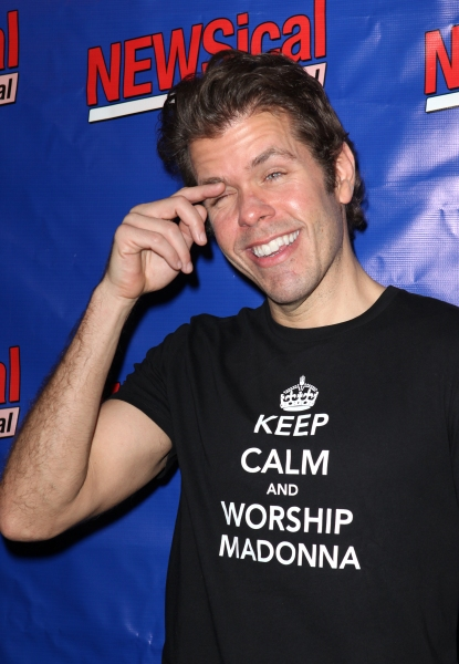 Perez Hilton  at Perez Hilton Opens in NEWSical The Musical