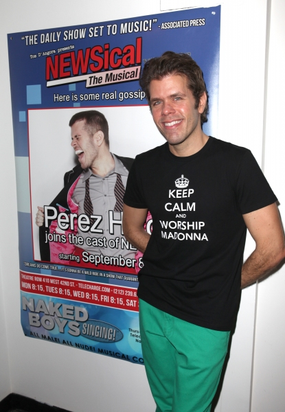 Photo Coverage: Perez Hilton Opens in NEWSical The Musical