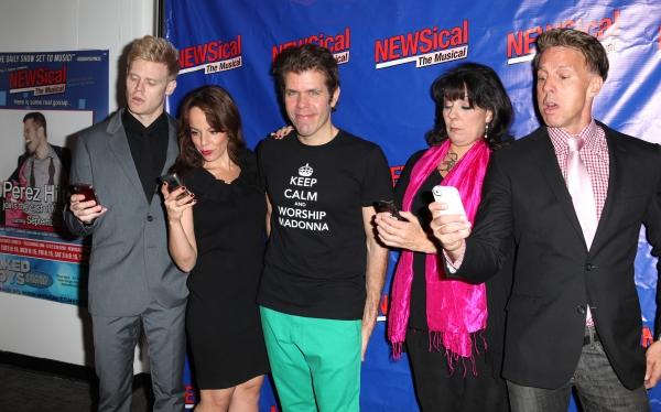 Tommy Walker, Leslie Kritzer, Perez Hilton, Christine Pedi, Michael West Photo