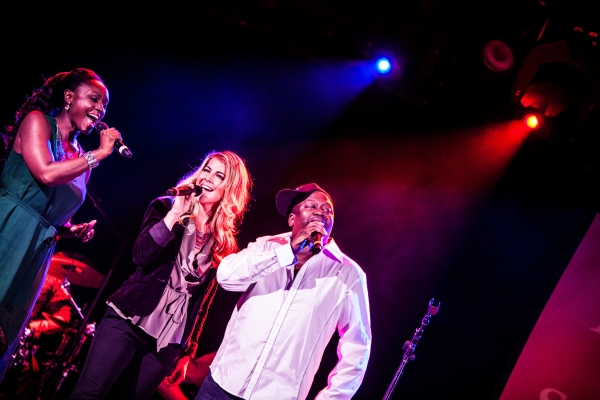 Saycon Sengbloh, Morgan James and Tituss Burgess at Saycon Sengbloh, Morgan James, Tituss Burgess and More in BROADWAY SINGS MICHAEL JACKSON!