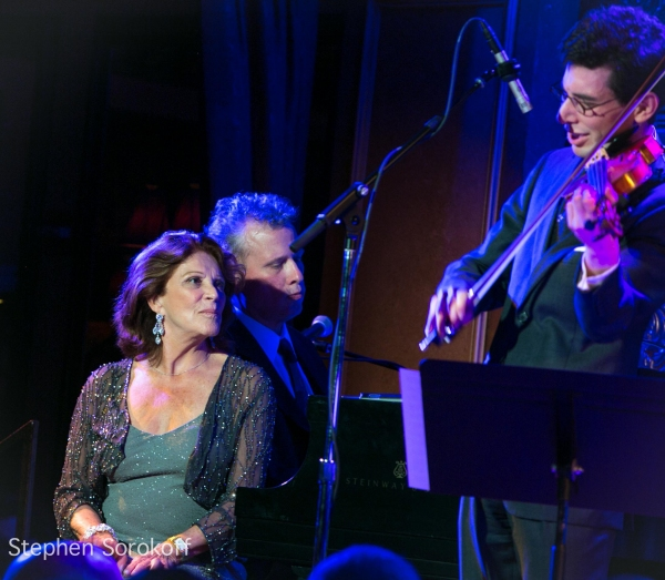 Linda Lavin, Billy Stritch, Aaron Weinstein at Linda Lavin & Billy Stritch Play 54 Below!