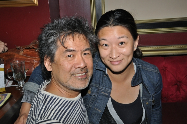 David Henry Hwang and Lily Fan