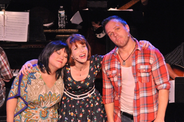 Ann Harada, Gwen Hollander and Travis Morin Photo