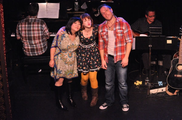 Ann Harada, Gwen Hollander and Travis Morin