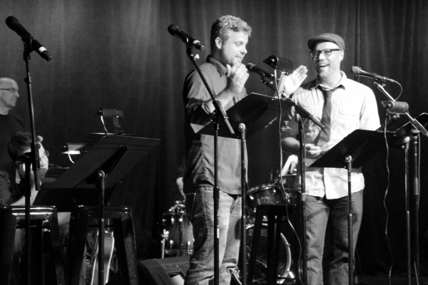 Photo Flash: Karen Olivo, Kyle Dean Massey, and More at FUGITIVE SONGS Release Party!