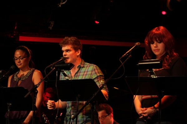 Karen Olivo, Andrew Durand, Alysha Umphress at Karen Olivo, Kyle Dean Massey, and More at FUGITIVE SONGS Release Party!