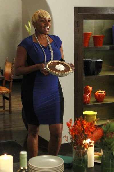 NeNe Leakes  at Rannells, Barkin in NEW NORMAL's 'Obama Mama' Episode