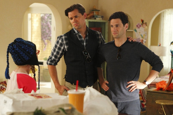 Photo Flash: Rannells, Barkin in NEW NORMAL's 'Obama Mama' Episode
