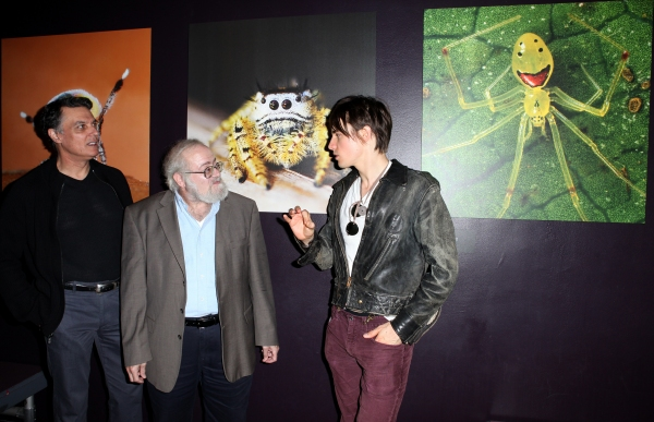 Photo Coverage: SPIDER-MAN Cast Visits 'Spiders Alive!' Exhibit