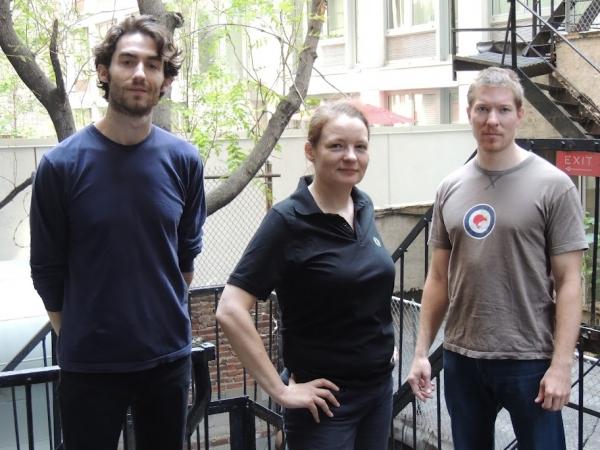 James Russell, Cara Seymour, and Joe Sikora