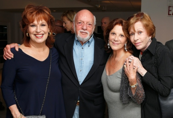 Photo Flash: Hal Prince, Carol Burnett, and More Visit 54 Below!